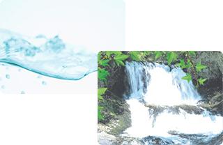 胎内高原の水