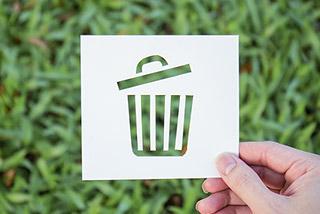 紙カップ型と軽量で環境に配慮